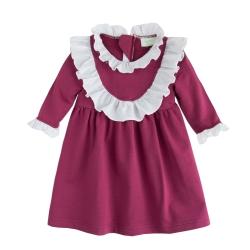 baby童衣 英式宮廷風雙層荷葉領洋裝 37195
