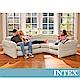 INTEX 超大充氣L型沙發椅(68575) product thumbnail 1