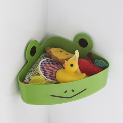 【YAMAZAKI】KIDS玩具小物收納籃-青蛙★收納盒/居家收納/玩具收納