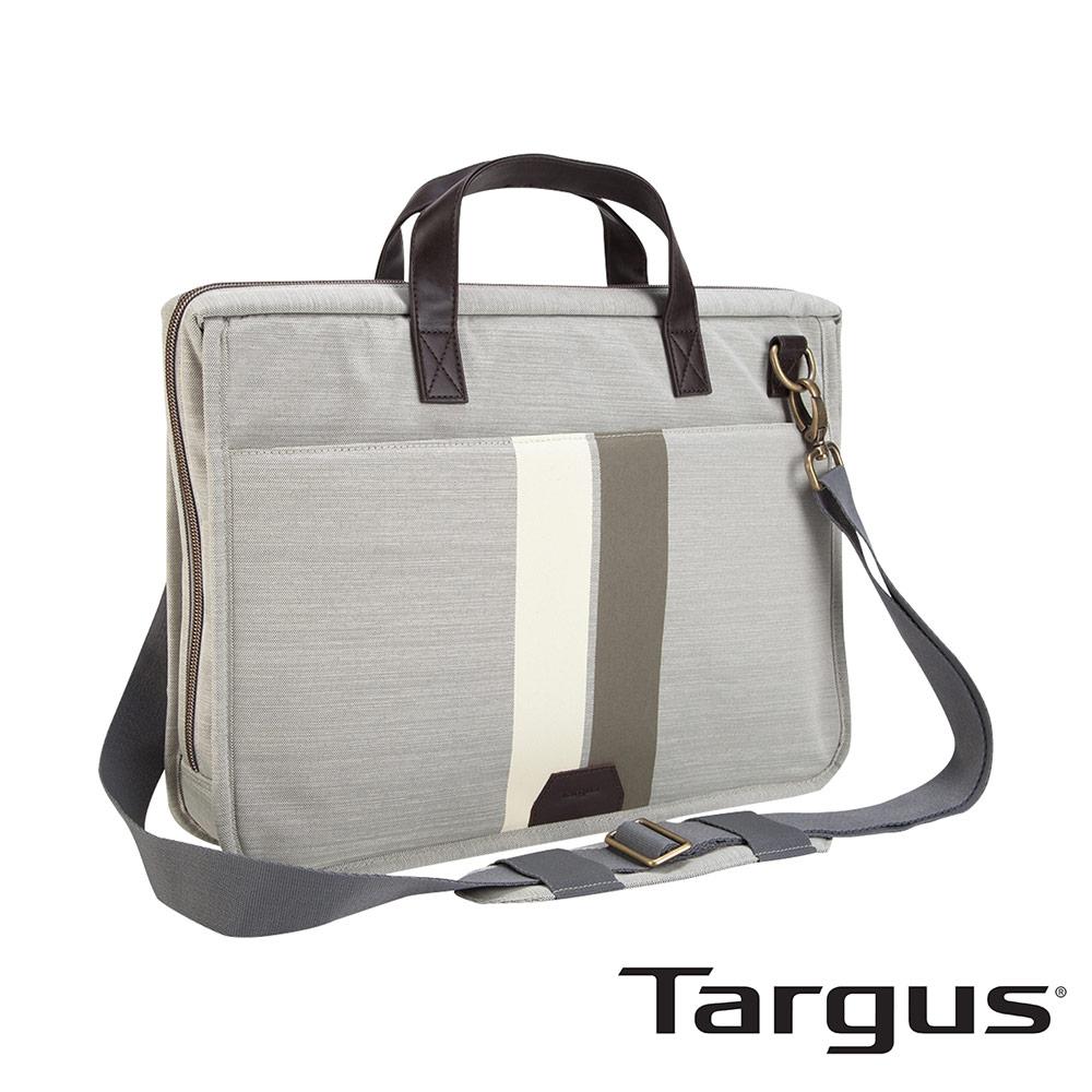 Targus Geo 復古休閒 15.6 吋線條公事包-象牙白