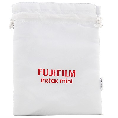 FUJIFILM instax mini 原廠拍立得相機袋-氣質白