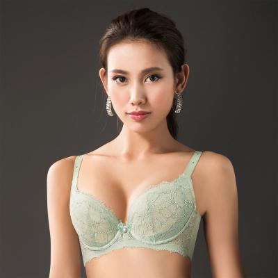 摩奇X 大V美背系列 B-E罩杯內衣(淺草綠)