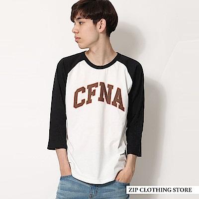 插肩印刷短袖TEE(18色) ZIP日本男裝