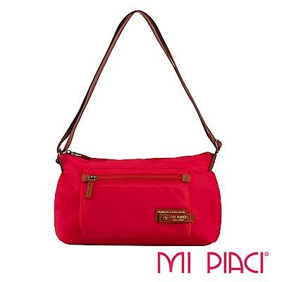 MI PIACI-輕盈系列-側肩背包1282789-唇膏紅