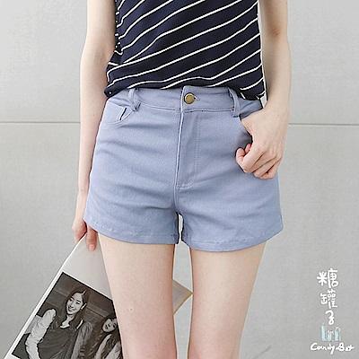 糖罐子-純色口袋短褲(共二色)