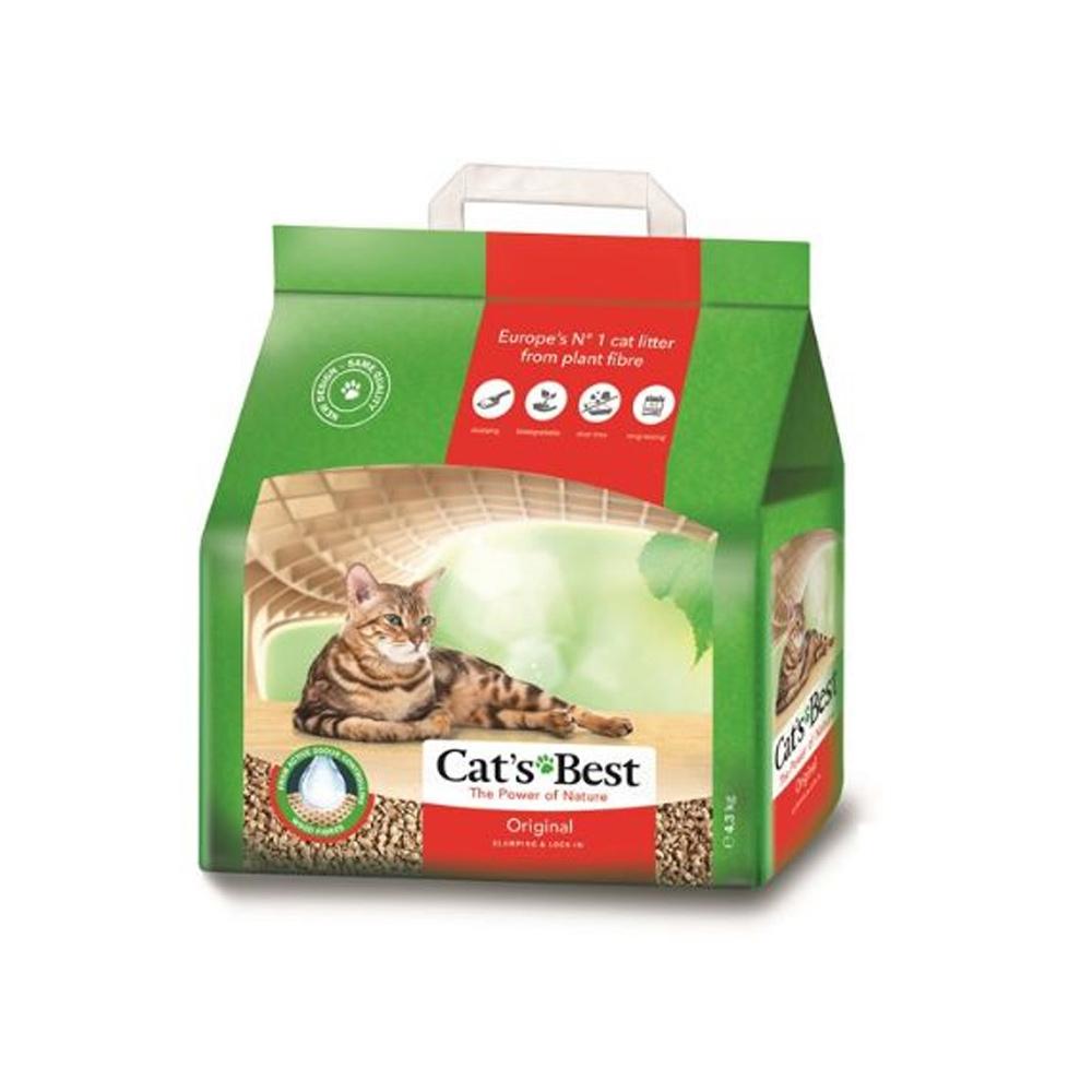 【兩包】德國凱優凝結木屑砂4.3kg(紅標-10L)
