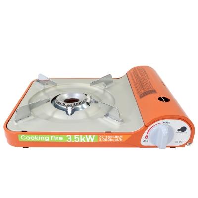 Green Wood格林伍德-通用瓦斯卡式爐GC-VS1(D) 亮橘