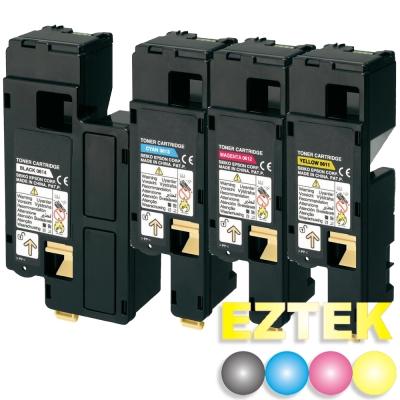 EZTEK EPSON S050611~S050614 高容量4色環保碳粉匣