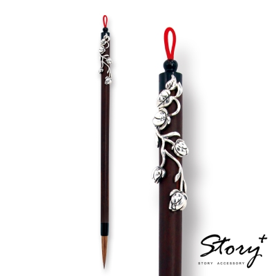 STORY ACCESSORY-四大美人珠寶筆-羞花.楊貴妃