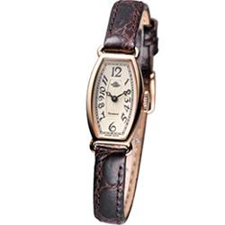 Rosemont 玫瑰皇后 典雅時尚錶-咖啡/14mm