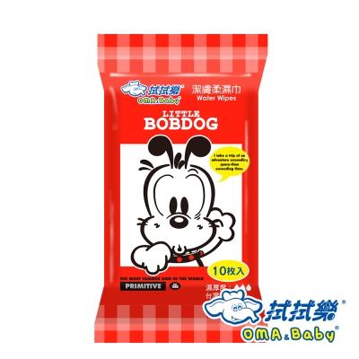 拭拭樂 BobDog 純水潔膚柔濕巾 10抽 72入