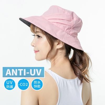 蒂巴蕾 向陽日好。Anti-UV 防曬防水快乾帽-女