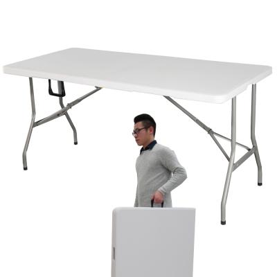 UMO 多用途折合萬用桌 桌面可對折 攜帶方便 (152*74*74公分)