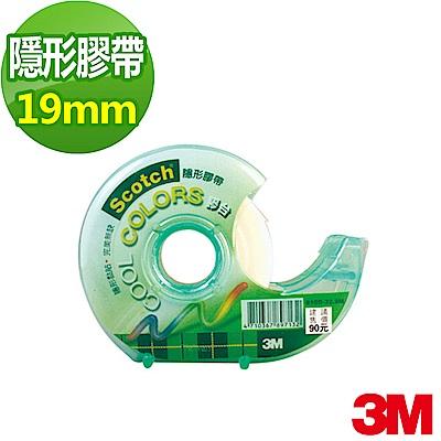 3M Scotch® 隱形膠帶附酷色切台 (810D, 19 mm x 32.9 m)