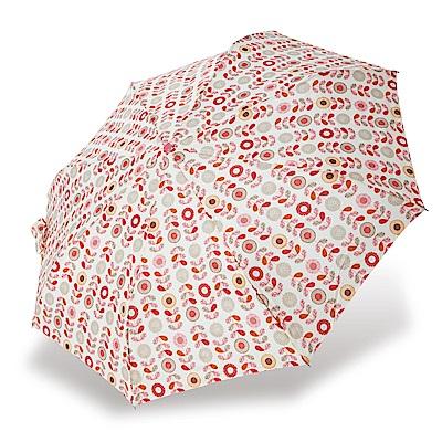 RAINSTORY粉彩花朵抗UV省力自動傘