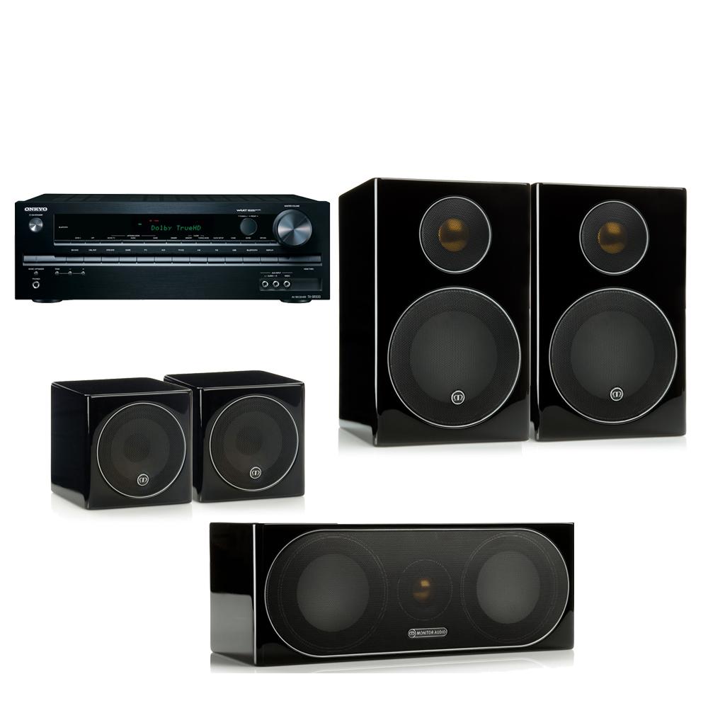 Monitor Audio Radius 90+Onkyo SR333劇院組合 product image 1
