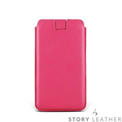 STORYLEATHER Note 8 貝殼式抽拉帶 客製化皮套