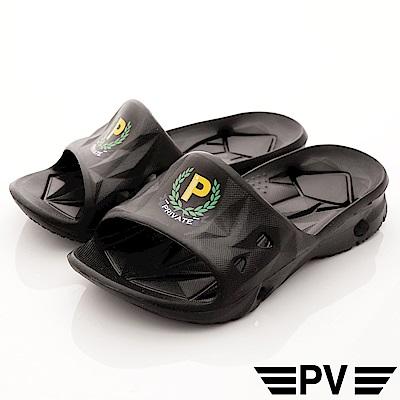 PV日系私藏 一體成型健康拖鞋款 P-892黑(中小童段)