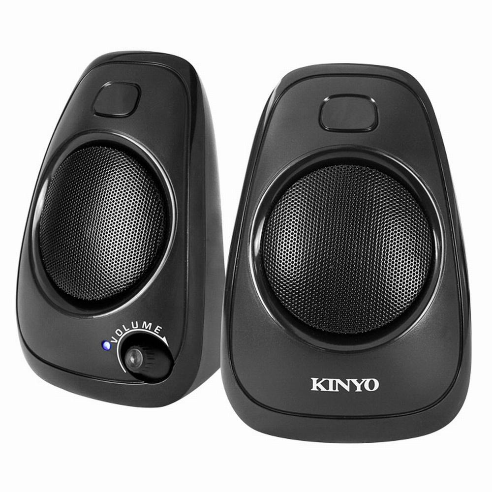 KINYO USB供電多媒體喇叭US-207