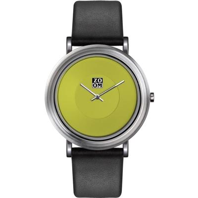 ZOOM - 168°系列設計極簡風腕錶-綠/44mm
