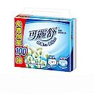 可麗舒柔韌抽取衛生紙100+10抽 (10包x8串/箱)