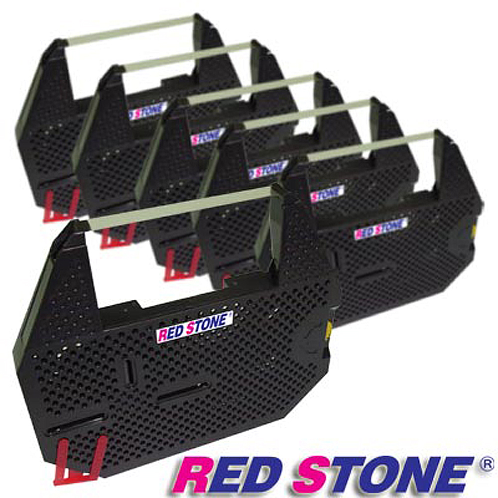RED STONE for FUJI SYSTEM FS8133 磁性帶黑色碳帶組(1組6入裝) product image 1