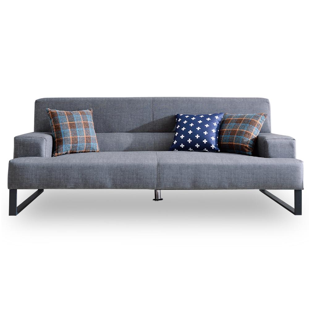 時尚屋 歐風柏得三人座獨立筒沙發