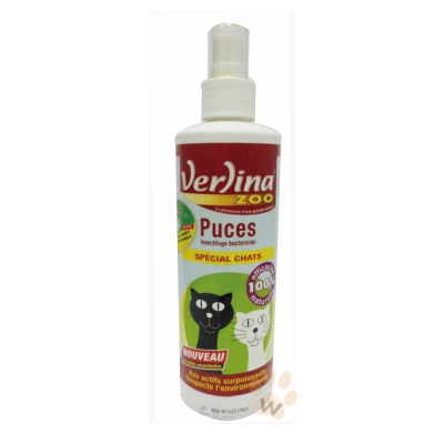芬綠寧Verlina  貓咪專用純天然精油寵物除蚤噴劑250ml  1瓶入