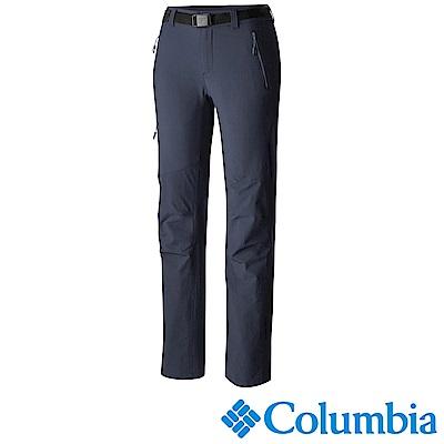 Columbia 哥倫比亞 女款-鈦防曬抗UV40防潑長褲-藍 UAR87640NY