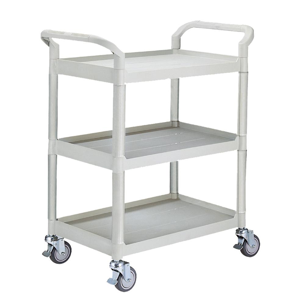 100%台灣製 標準型多功能三層工具餐車/置物架/手推車