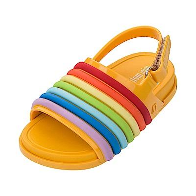 MINI MELISSA 歡樂彩虹小童涼鞋-黃色
