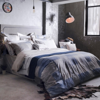 BBL曠野詩人100%精梳棉.印花雙人四件式床組
