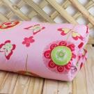 鴻宇HongYew 防蹣抗菌100%精梳棉-粉紅花園夏日涼被