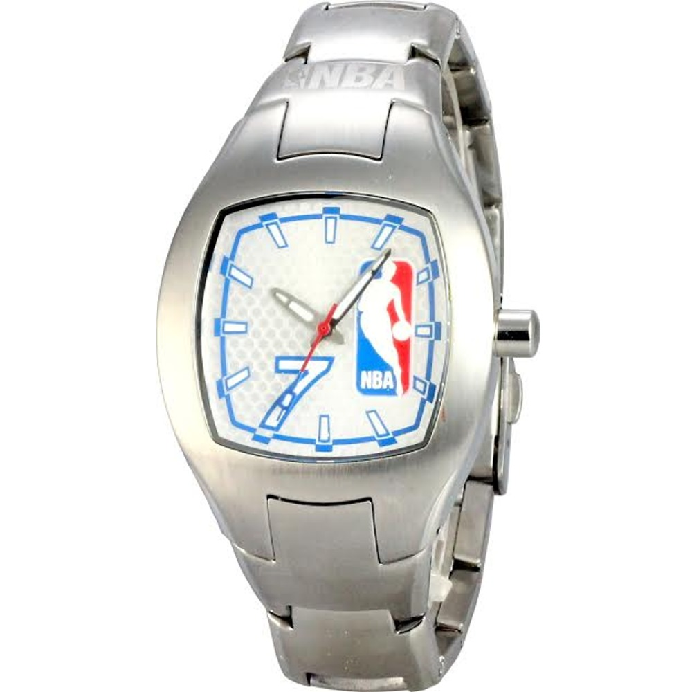 NBA 美國職籃 幸運數字7號腕錶-白/36mm