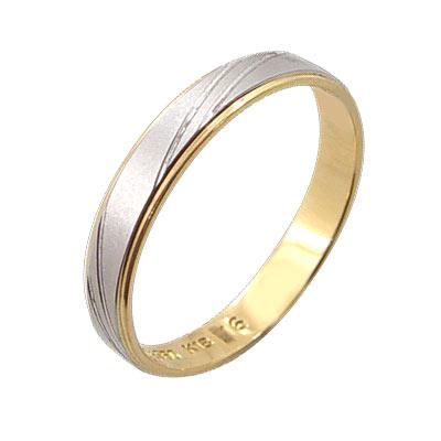 MODDO「愛情見證」日本鉑金+K金戒