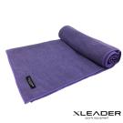 Leader X 超細纖維吸汗止滑瑜珈鋪巾 紫色