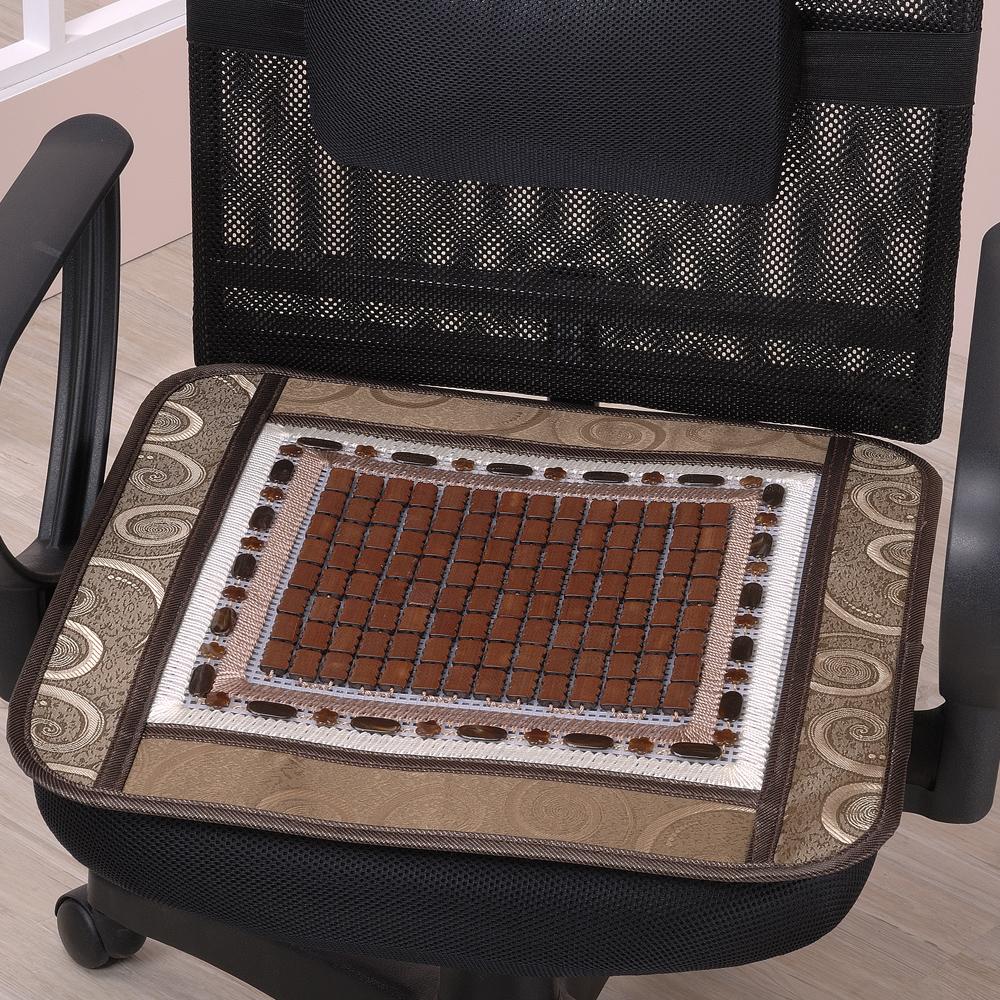 《思美爾》3入涼夏棕竹精緻坐墊