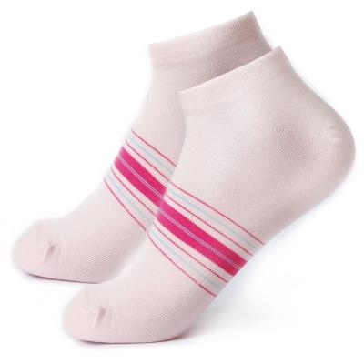 TiNyHouSe 舒適襪系列 乾爽透氣超超細針船襪 粉色F號<b>2</b>雙組