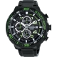 ALBA SignA 疾速奔馳計時腕錶(AM3101X1)-黑x綠/49mm product thumbnail 1
