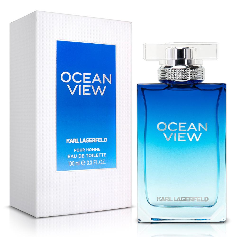 (即期品)Karl Lagerfeld卡爾·拉格斐 卡爾海灣戀人限量男性淡香水100ml