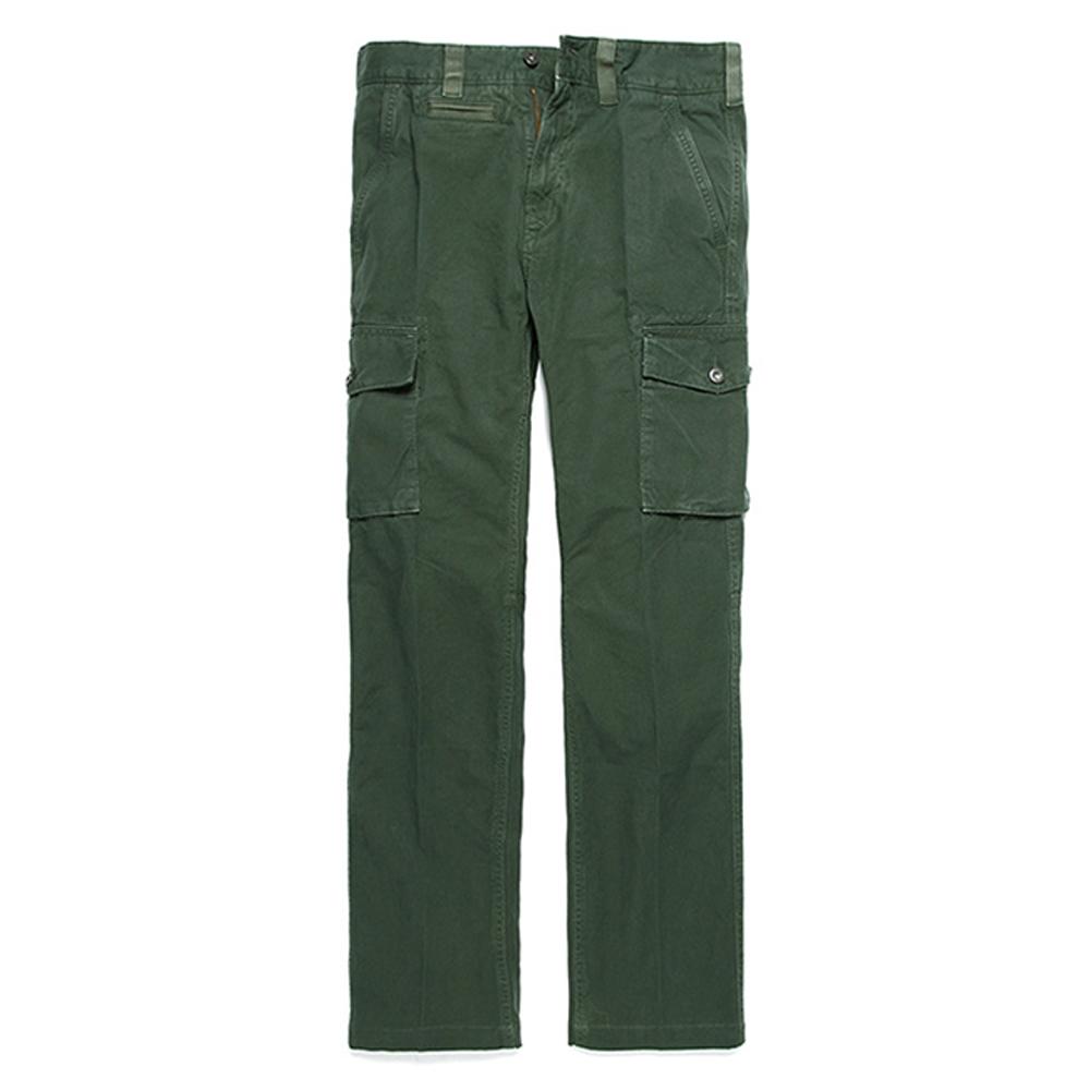 Timberland 男款森林綠多口袋工作休閒長褲