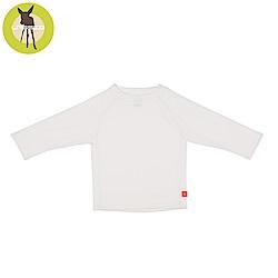 德國Lassig-嬰幼兒抗UV長袖泳裝上衣-純白