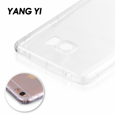 YANGYI揚邑Samsung Galaxy Note 4 氣囊式防撞耐磨不黏機清透空壓殼