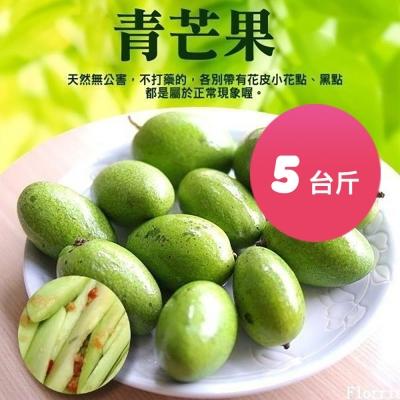 果之蔬-青芒果(製做情人果)(5台斤+-10%)