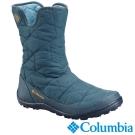 Columbia哥倫比亞 女款-防水保暖雪鞋-孔雀藍 UBL15970PC