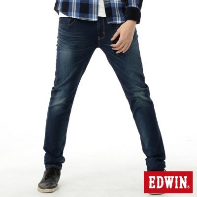 EDWIN-窄直筒-迦績褲內藏紅布邊牛仔褲-男-中