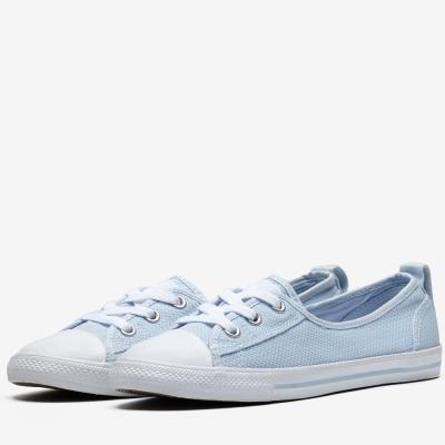 CONVERSE-女休閒鞋555892C-淺藍