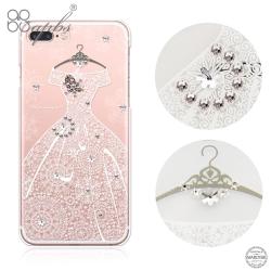 apbs iPhone8/7 Plus 5.5吋施華洛世奇彩鑽手機殼-禮服奢華版