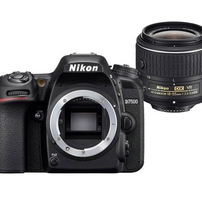 【快】Nikon D7500+18-55mm VR 單鏡組*(平輸中文)