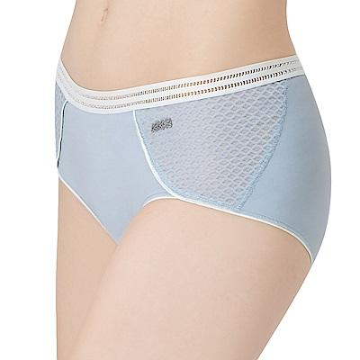 思薇爾 K.K Fit i動洞系列M-XL素面低腰平口內褲(採石灰)
